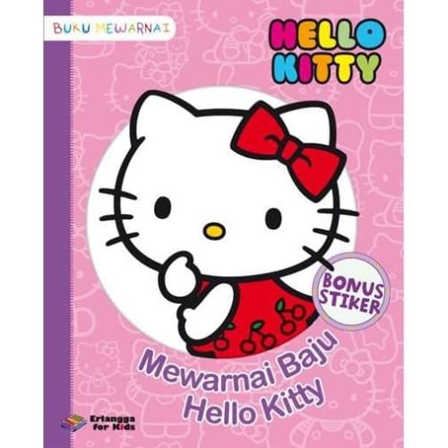 Foto Produk HELLO KITTY: MEWARNAI BAJU HELLO KITTY dari Penerbit Erlangga