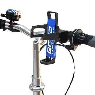 Foto Produk BETO Tempat Botol Minum Sepeda / Bicycle Bracket Drink Holder 3 Warna - Hitam dari KLIK MOTORSPORT