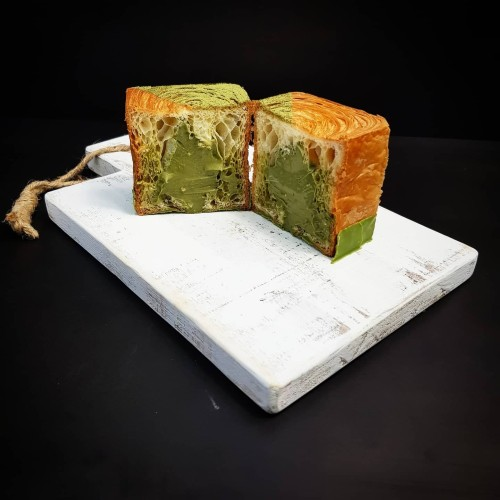 Foto Produk Croissant Don Bakeshop - Matcha Cube Croissant dari Don Bakeshop