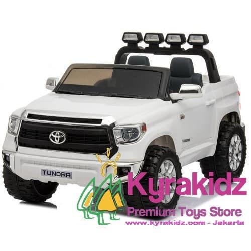 Foto Produk Mainan Mobil Aki Anak Toyota Tundra XXXL Jumbo 2 seater dari KYRAKIDZ