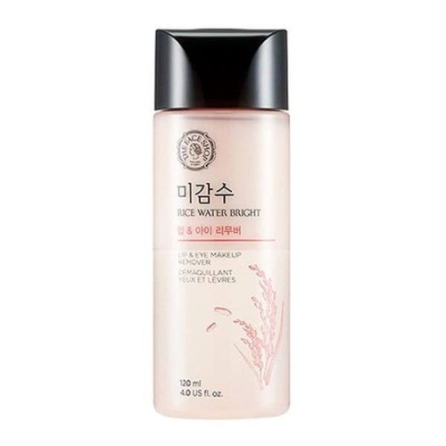 Foto Produk [The Face Shop] Rice Water Bright Lip And Eye Remover - 120ml-Original dari The Face Shop Official