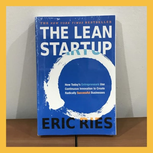 Foto Produk Buku Import The Lean Startup by Eric Ries (Original Paperback) dari Book World