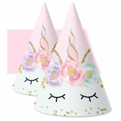 Foto Produk Topi Ultah Kerucut Unicorn dari BeeVee Shop