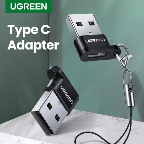Foto Produk Ugreen Konverter Type c to Usb 3.0 Ugreen Type c Female to Usb Male - USB 2.0 BLACK dari Real Star