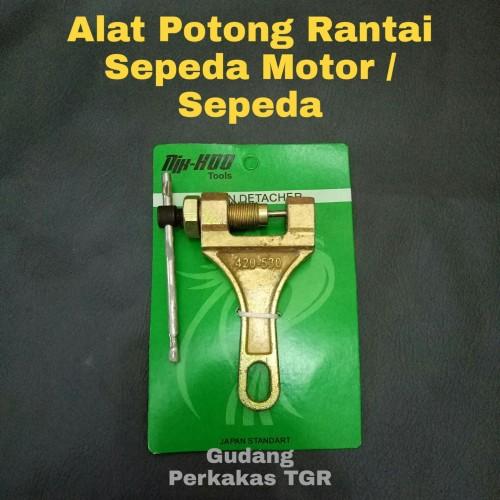 Foto Produk Alat Potong Rantai Sepeda Motor / Pemotong Rantai / Chain Detacher - BLACK dari GUDANG PERKAKAS