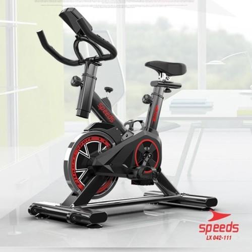 Foto Produk Spinning bike Speeds 042-111 20kg Sepeda Fitness Ala - Hitam dari jagoans sport & music