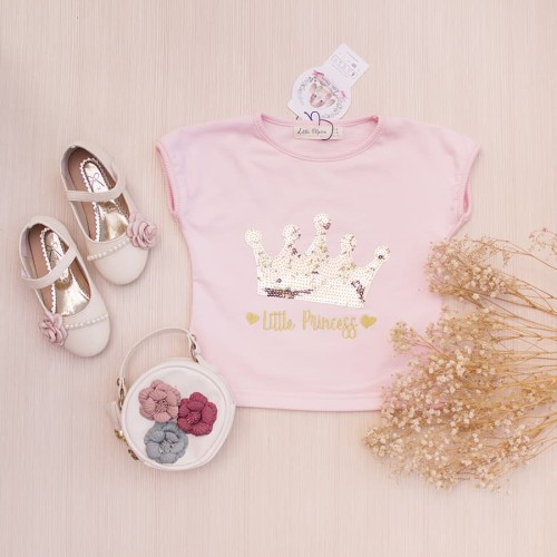 Foto Produk Kaos Anak Perempuan Little Princess Tee Lacey Atelier - L 5-6 tahun dari LACEY atelier
