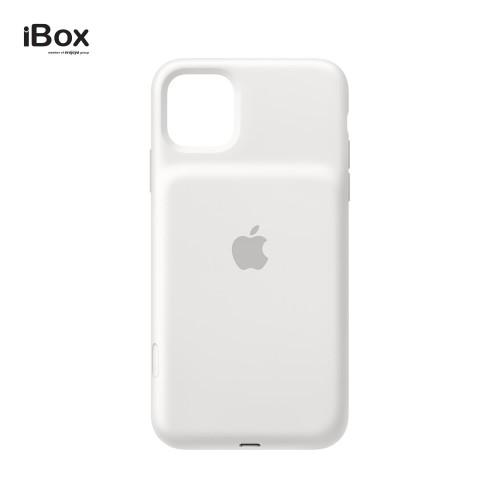 Foto Produk Apple iPhone 11 Pro Max Smart Battery Case - White dari iBox Official Store