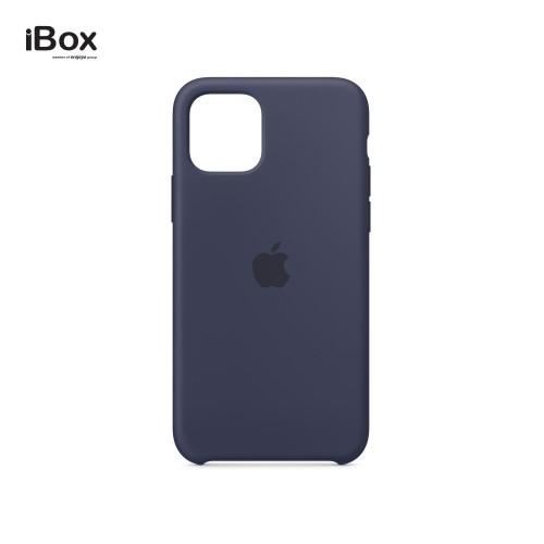 Foto Produk Apple iPhone 11 Pro Silicone Case - Midnight Blue dari iBox Official Store