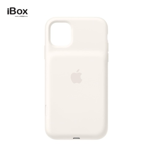 Foto Produk Apple iPhone 11 Smart Battery Case - Soft White dari iBox Official Store