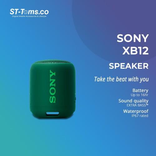 Foto Produk Sony SRS- XB12 / XB 12 Extra Bass Portable Bluetooth Speaker - Green dari ST-Toms.co