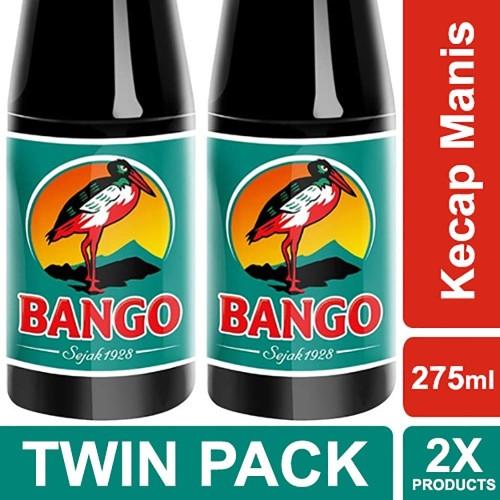 Foto Produk Bango Kecap Manis 275Ml Twin Pack dari Unilever F&B Official