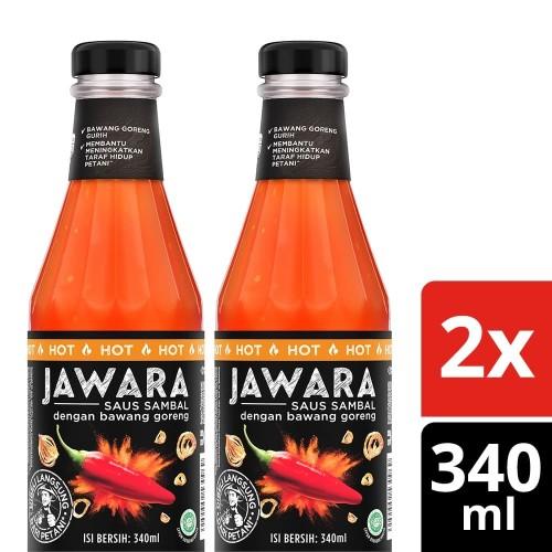 Foto Produk Jawara Saus Sambal Hot 340Ml Twin Pack dari Unilever F&B Official