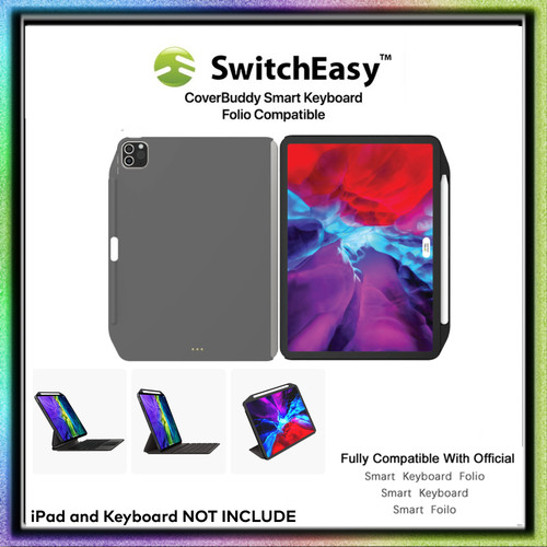 Foto Produk Switcheasy CoverBuddy Case iPad Pro 11 Inch 2020 With Pencil Charge - Gray dari Spigen Indonesia