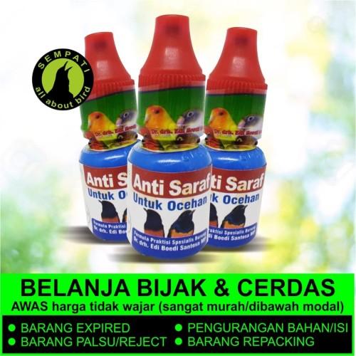 Foto Produk ANTI SARAF Dr.Edhi OBAT BURUNG SAKIT TETELO GANGGUAN SYARAF STRESS dari Sempati Bird Shop