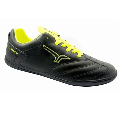 Foto Produk CALCI Sepatu Futsal Epic - Black Yellow - 39 dari Calci Official Store