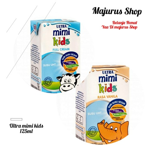 Foto Produk Susu Ultra Mimi 125ml - Vanilla dari majurus shop