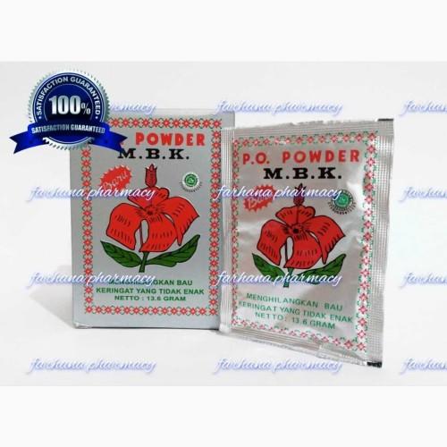 Foto Produk Promo Asli Bedak MBK Silver / Menghilangkan Bau Keringat dari Farhana Pharmacy