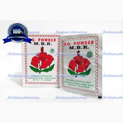 Foto Produk Promo Asli Bedak MBK Original / Menghilangkan Bau Keringat dari Farhana Pharmacy