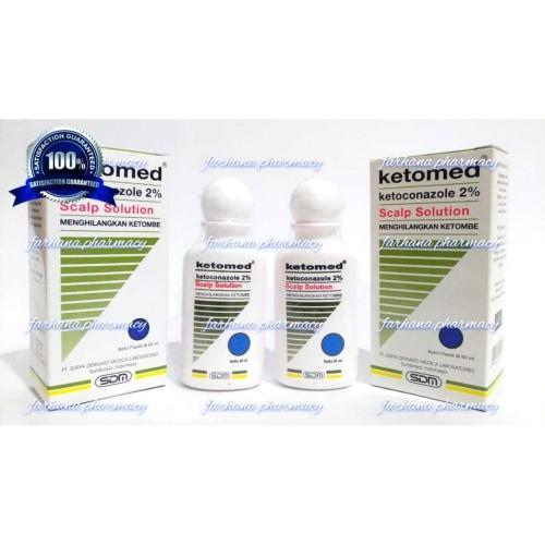 Foto Produk Promo Asli Ketomed Shampoo 60 ml / Menghilangkan Ketombe dari Farhana Pharmacy