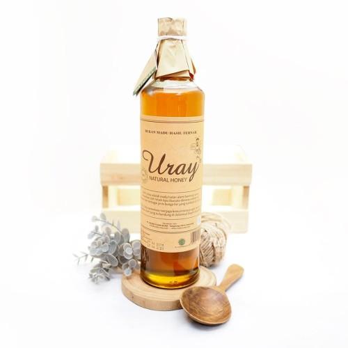 Foto Produk Madu Uray / Madu Lebah Hutan / 100% Raw Natural Honey 640 ml dari Nourish Indonesia
