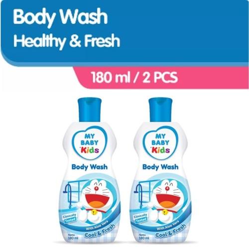 Foto Produk MY BABY Kids Body Wash [180 mL /2 PCS] - Cool & Fresh dari Tempo Store Official