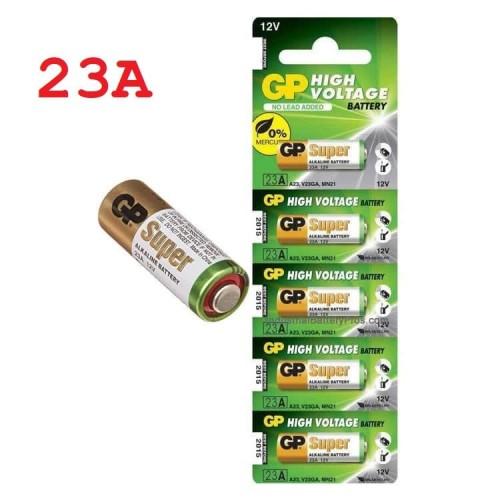 Foto Produk Baterai Battery Batere GP 23A A23 High Voltage 12V dari Minyak Kutus Jakarta
