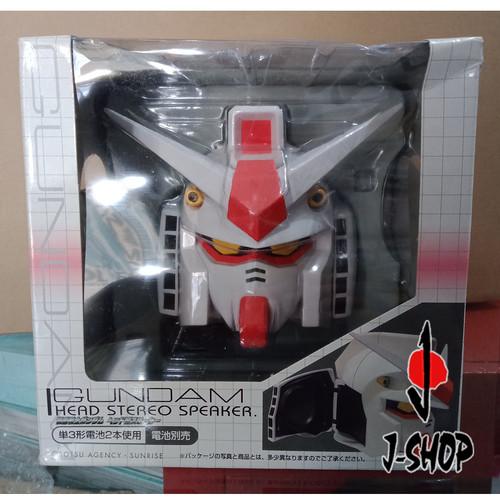 Foto Produk Gundam Head Stereo Speaker dari J-SHOP INDONESIA