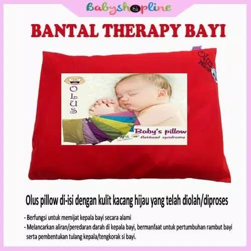 Foto Produk Bantal Anti Peyang /Bantal Terapi Bayi isi kulit kacang hijau dari hydepark