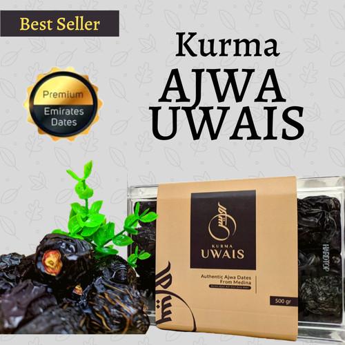 Foto Produk Kurma Ajwa Uwais / Kurma Nabi - 1 Kg - Asli Madinah + Bonus Tambahan dari madu-phuceng.id