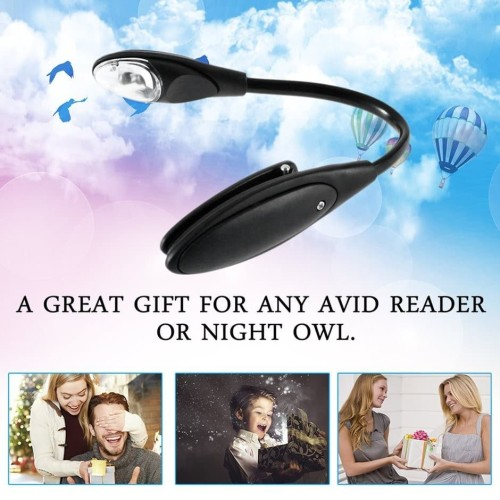 Foto Produk SS Lampu Baca LED Mini Fleksibel Model Klip On untuk Laptop / Buku dari sentralstoreid