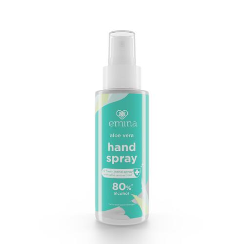 Foto Produk Emina Aloe Vera Hand Spray 100 ml dari Emina Official Store