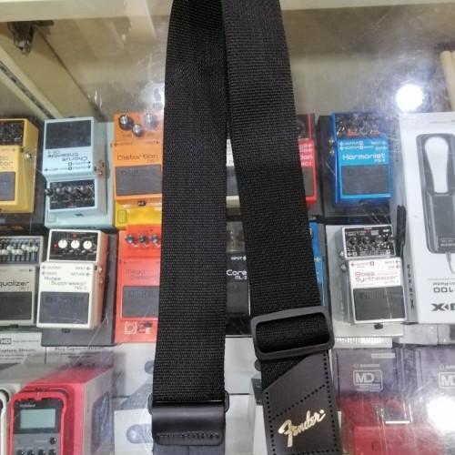 Foto Produk Strap Fender Black made in USA dari Serenata Galeri Musik