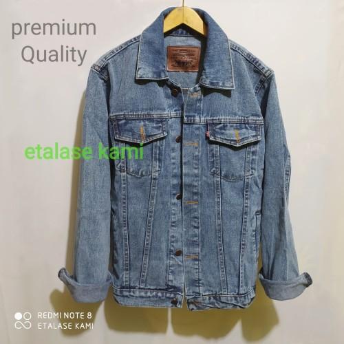 Foto Produk jaket jeans pria jaket denim jeans premium warna biru muda sanwosh - Sanwosh Muda, M dari etalase kami
