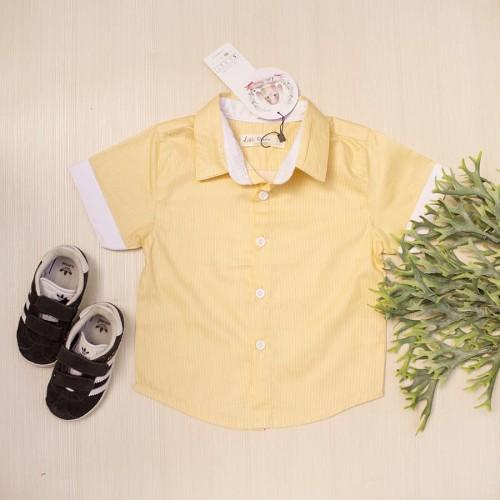 Foto Produk Kemeja Anak Laki-Laki Yelvo Shirt Lacey Atelier - S 1-2 tahun dari LACEY atelier