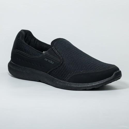 Foto Produk Ando Official Sepatu Arka Pria Dewasa - Hitam Hitam - 40 dari Ando Official Store
