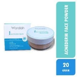 Foto Produk Wardah Acnederm Face Powder 20G / Bedak Tabur / Kulit Berjerawat dari Orvin Health & Beauty