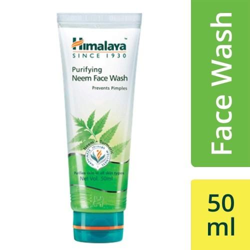 Foto Produk HIMALAYA PURIFYING NEEM FACE WASH 50ML / FACIAL WASH / CLEANSER dari Orvin Health & Beauty