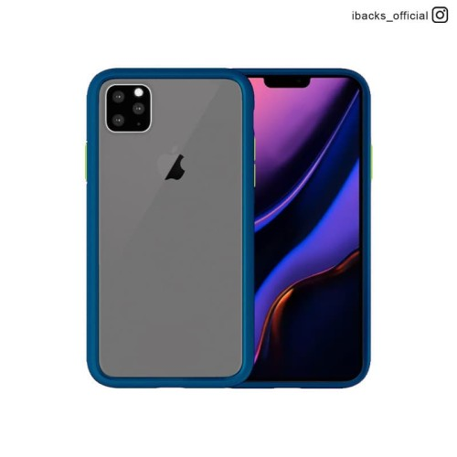 Foto Produk iBacks Barvity Case For Iphone 11 - Navy dari iBox Official Store