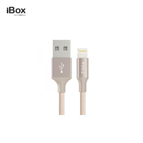 Foto Produk Zikko LED Lightning Cable SC500 Golden - Reversible dari iBox Official Store