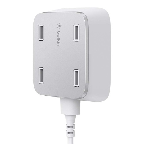 Foto Produk Belkin Family Rockstar 4-Ports USB Home Charger dari iBox Official Store