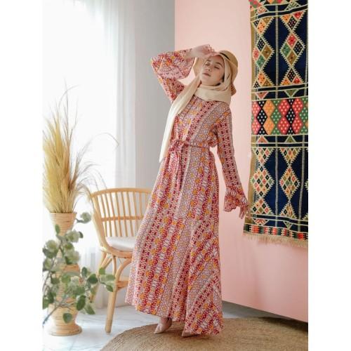 Foto Produk Home Dress Etnic Wanita Daster Muslimah Mocca Sarfa Outfit dari EDIFASTORE