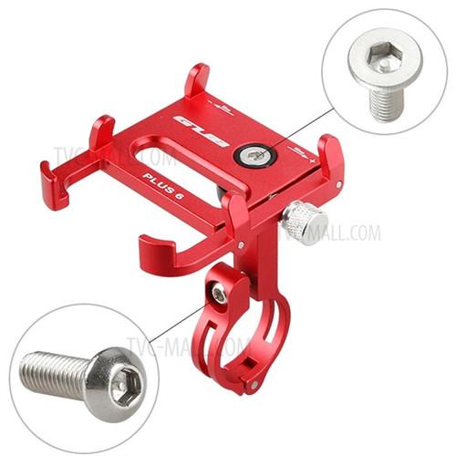 Foto Produk GUB Pro 6 holder hp alumunium alloy phon holder rotation 360 ORI - Merah dari EDC Online