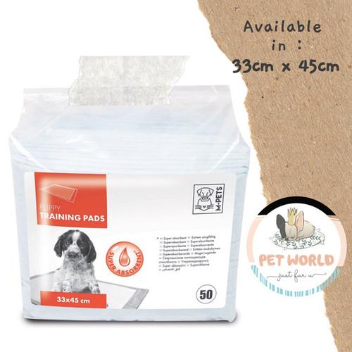 Foto Produk M-PETS Training Pee Pad S - Perlak Pipis Popok Anjing Hewan Dog Diaper dari PetWorld