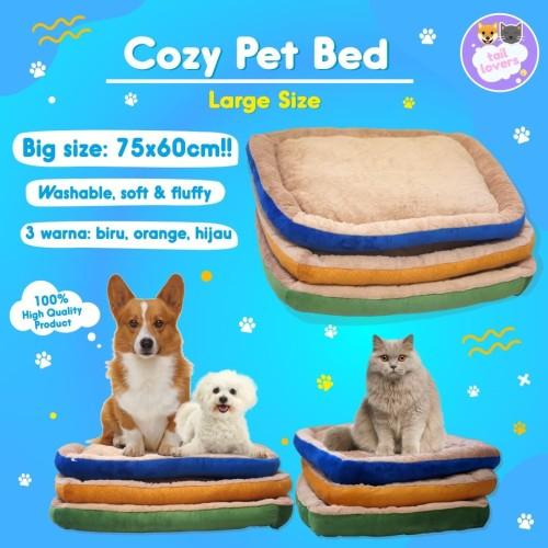 Foto Produk Kasur Anjing Kucing Pet Bed Tempat Tidur Rumah Hewan Dog Besar Large dari Tail Lovers