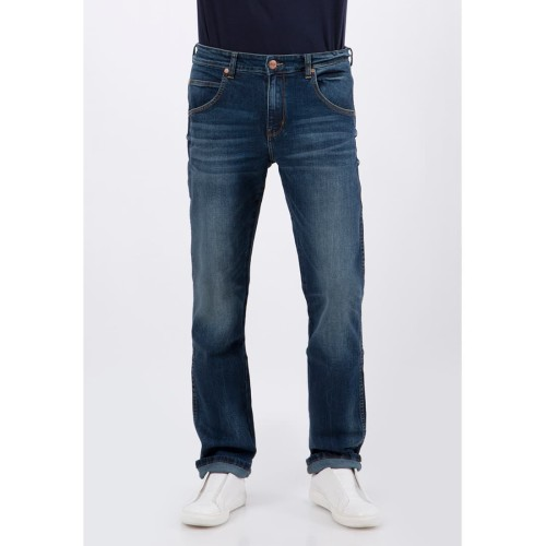 Foto Produk Wrangler Men Denim Spencsm7Bc03P20 Dark Blue - Dark Blue, 29 dari Wrangler Indonesia