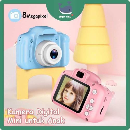 Foto Produk Kids Camera - Kamera Digital Mini Anak - DSLR - Mainan kamera anak - SD Card 16GB dari Mama Sing