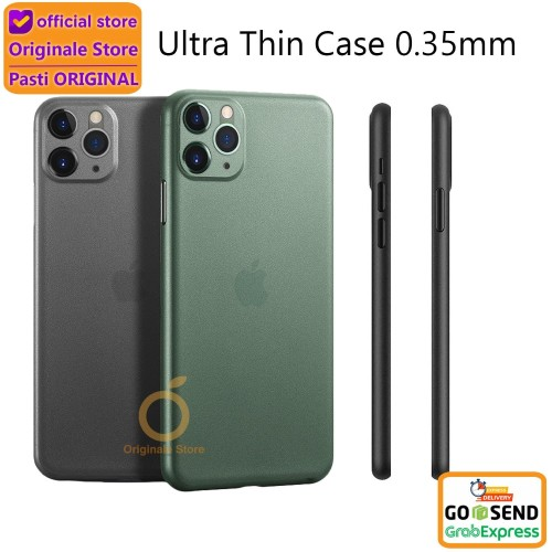 Foto Produk Case iPhone 11 Pro Max / 11 Pro / 11 / Xr / Xs AirCase Ultra Thin - iPhone 11ProMax, Putih dari Originale Store