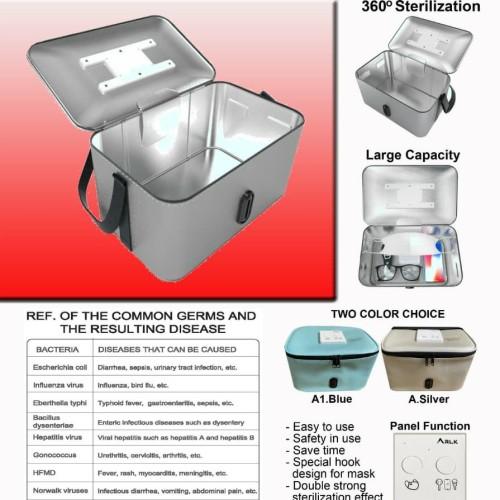 Foto Produk ARLK UV STERILIZER DISINFECTION BOX ALAT STERIL PORTABLE BESAR dari HOSANA COMPUTER