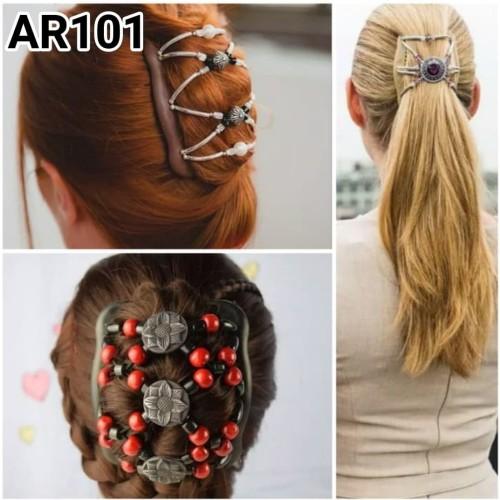 Foto Produk Sirkam Double / Magic Hair Comb / Ikat Rambut Multifungsi dari cahya21